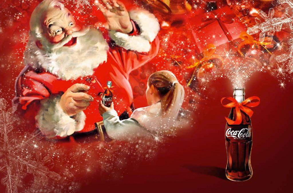 Santa Claus powered by Coca Cola?