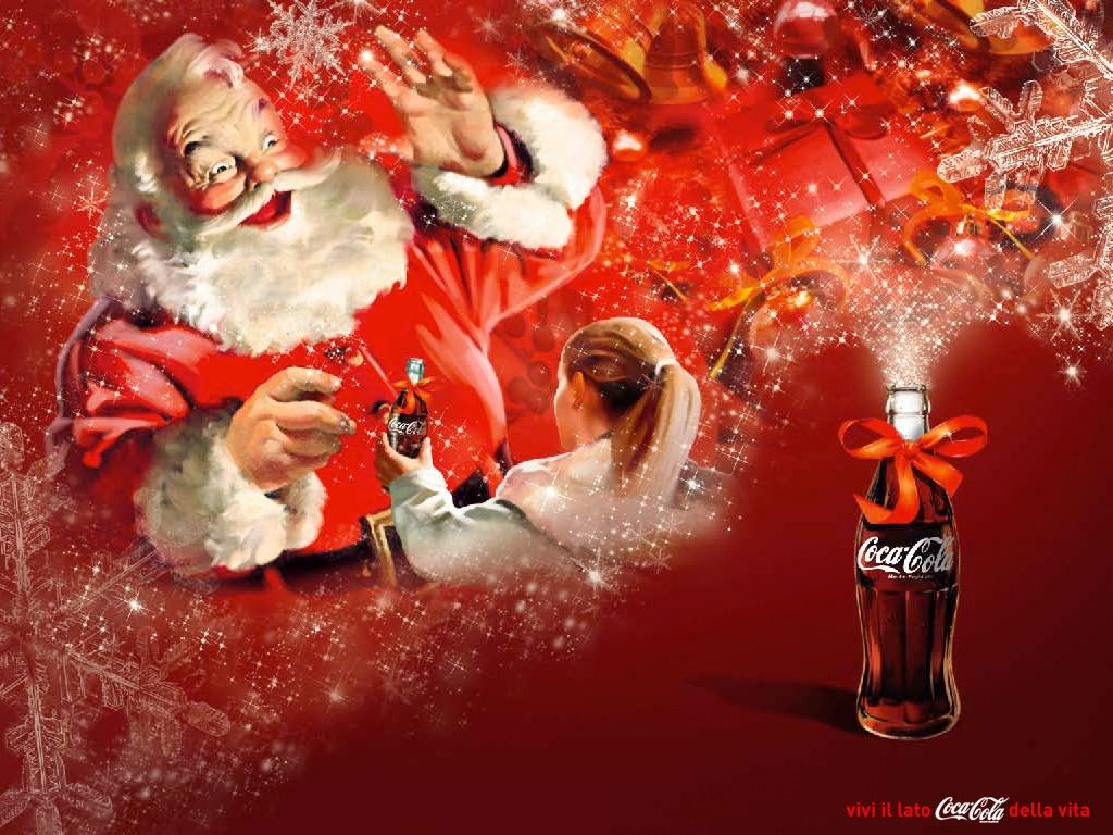 santa claus powered by coca cola brands for characters. Black Bedroom Furniture Sets. Home Design Ideas